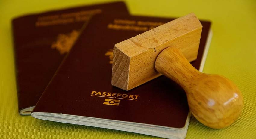 Zoll Passport Norwegen